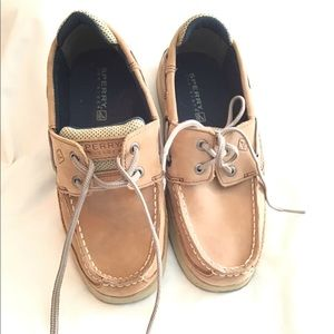 Boys Sperry Top Siders Size 3M